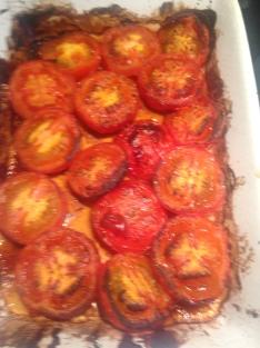 Roast Tomatoes with Balsamic Glaze